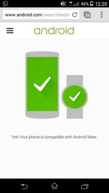 Check Android Wear Smartwatch Compatibility for Smartphones & Tablets