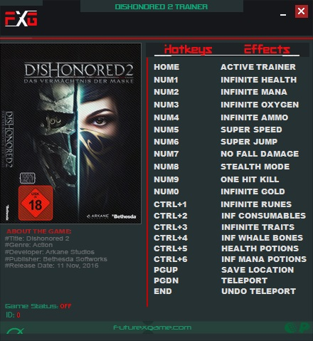 Dishonored save editor Download