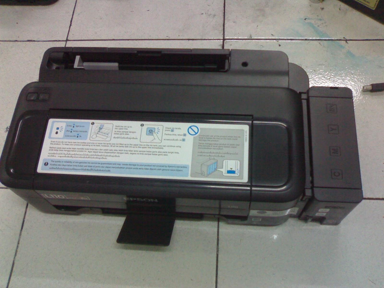 Cara Mangatasi Lampu Indikator Tinta Printer Epson L110 L300 L210 L310 L 310 Seri Blinking Terus