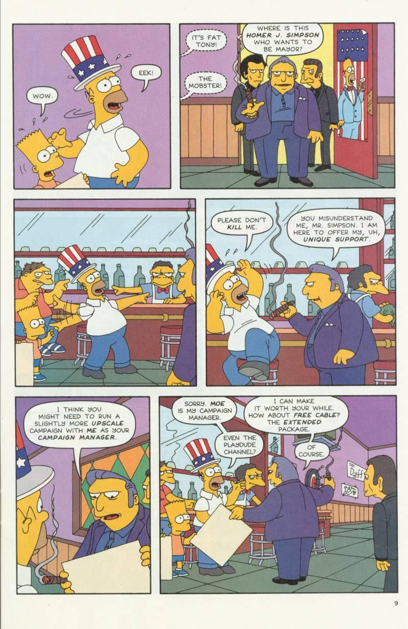 Read online Simpsons Comics comic -  Issue #58 - 10