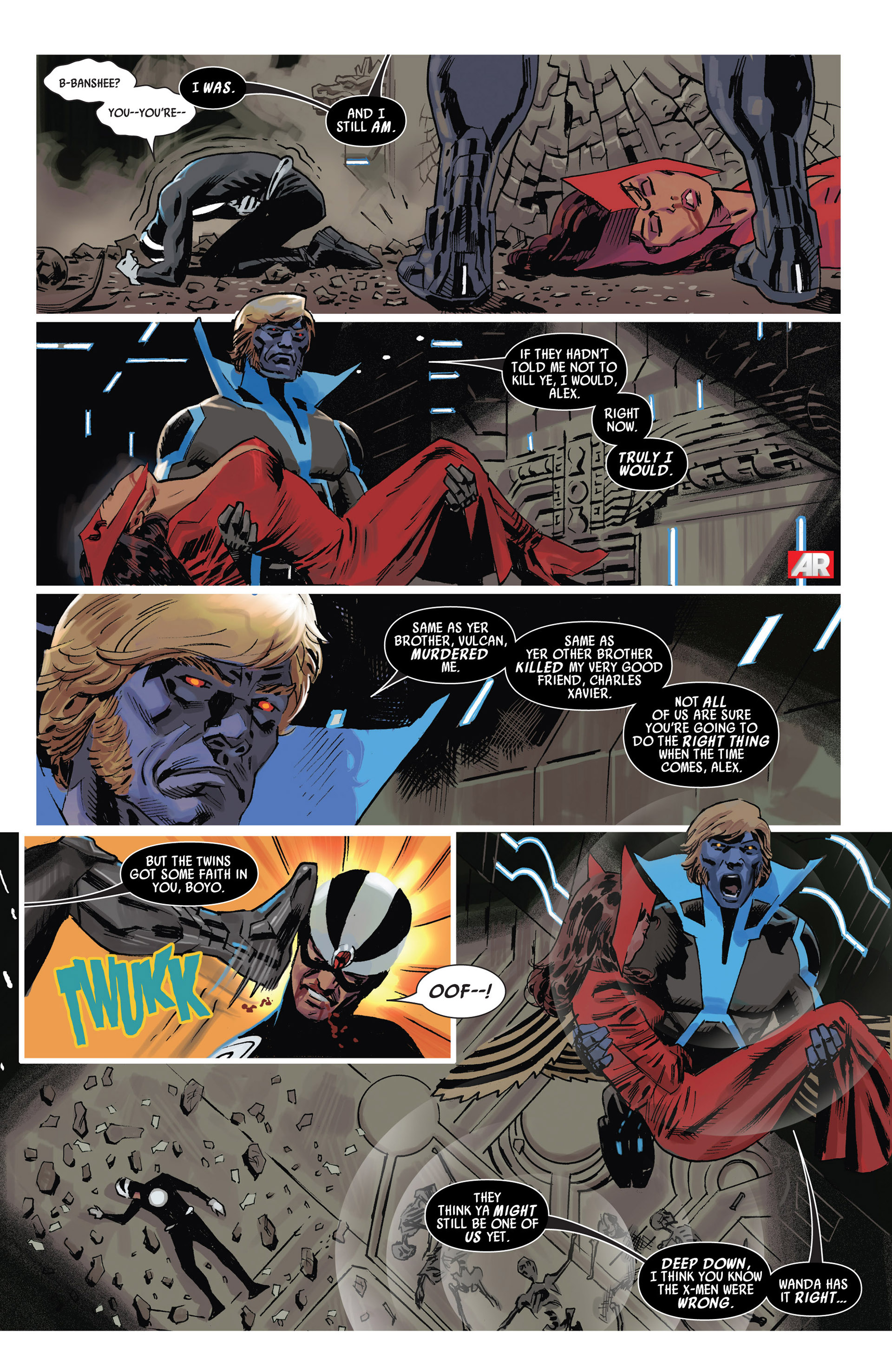 Read online Uncanny Avengers (2012) comic -  Issue #10 - 9