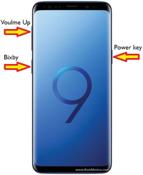 Reset Samsung Galaxy S9
