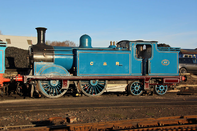 Image result for Caledonian Railway No. 419 2019