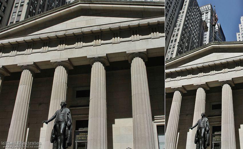 Εθνικό Μνημείο στην Wall Street