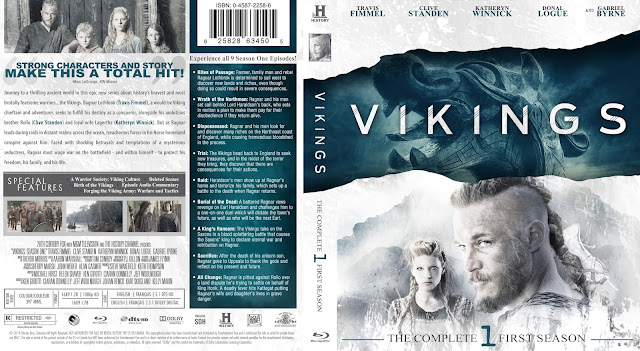 Vikings Season 1 Bluray Cover