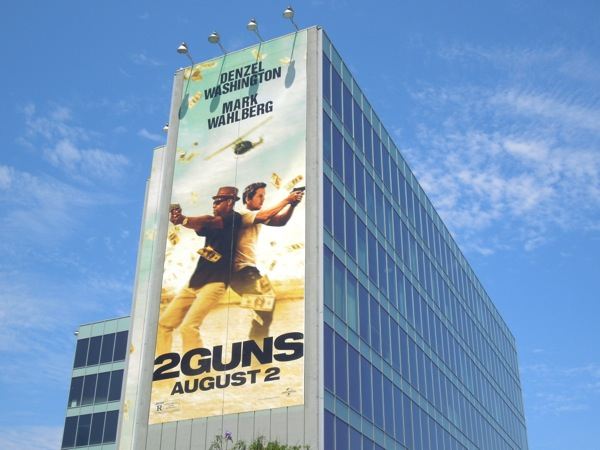 Giant 2 Guns movie billboard