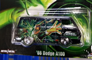 Hot Wheels Pop Culture Green Lantern Dodge '66 Dodge A100