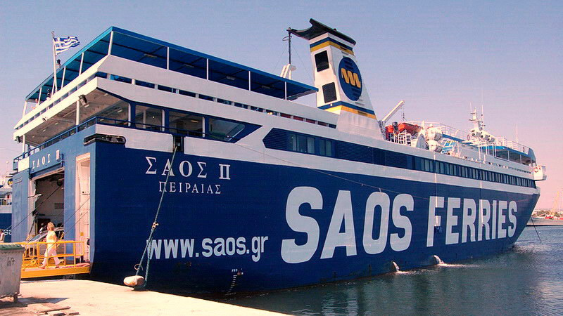 Τέλος στην παράνομη μεταφορά των απορριμμάτων της Σαμοθράκης βάζει η SAOS FERRIES