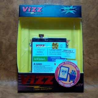Harga Baterai Zenfone 5 Asus Double Power Vizz