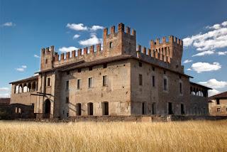 Colleoni's castle at Malpaga, south of Bergamo