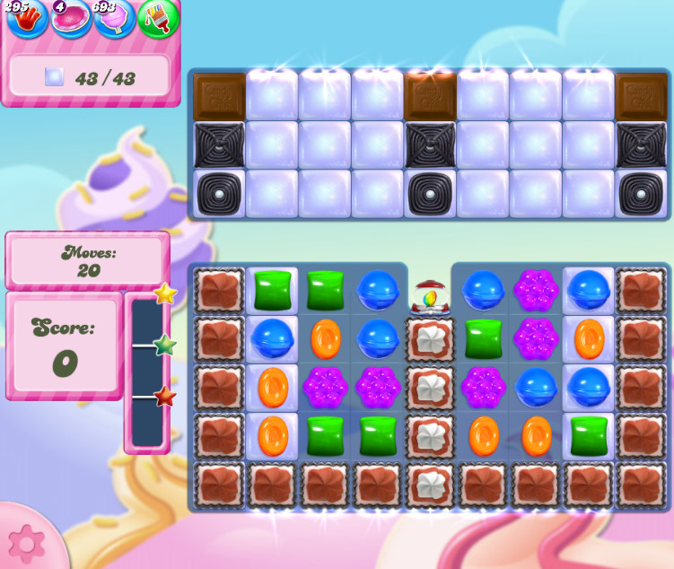 Candy Crush Saga level 2829