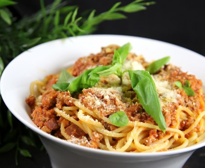 Spaghetti bolognese (close to the real one)