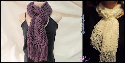 cachecol feminino gola feminina mulher inverno lindo quente fofo elegante trico tricot croche lã barbante simples