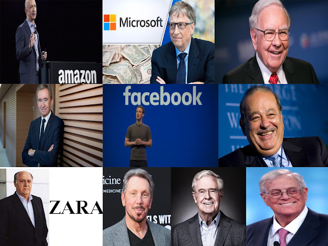 Top 10 richest person in the world 2018