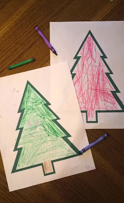 Kids Christmas activity printables