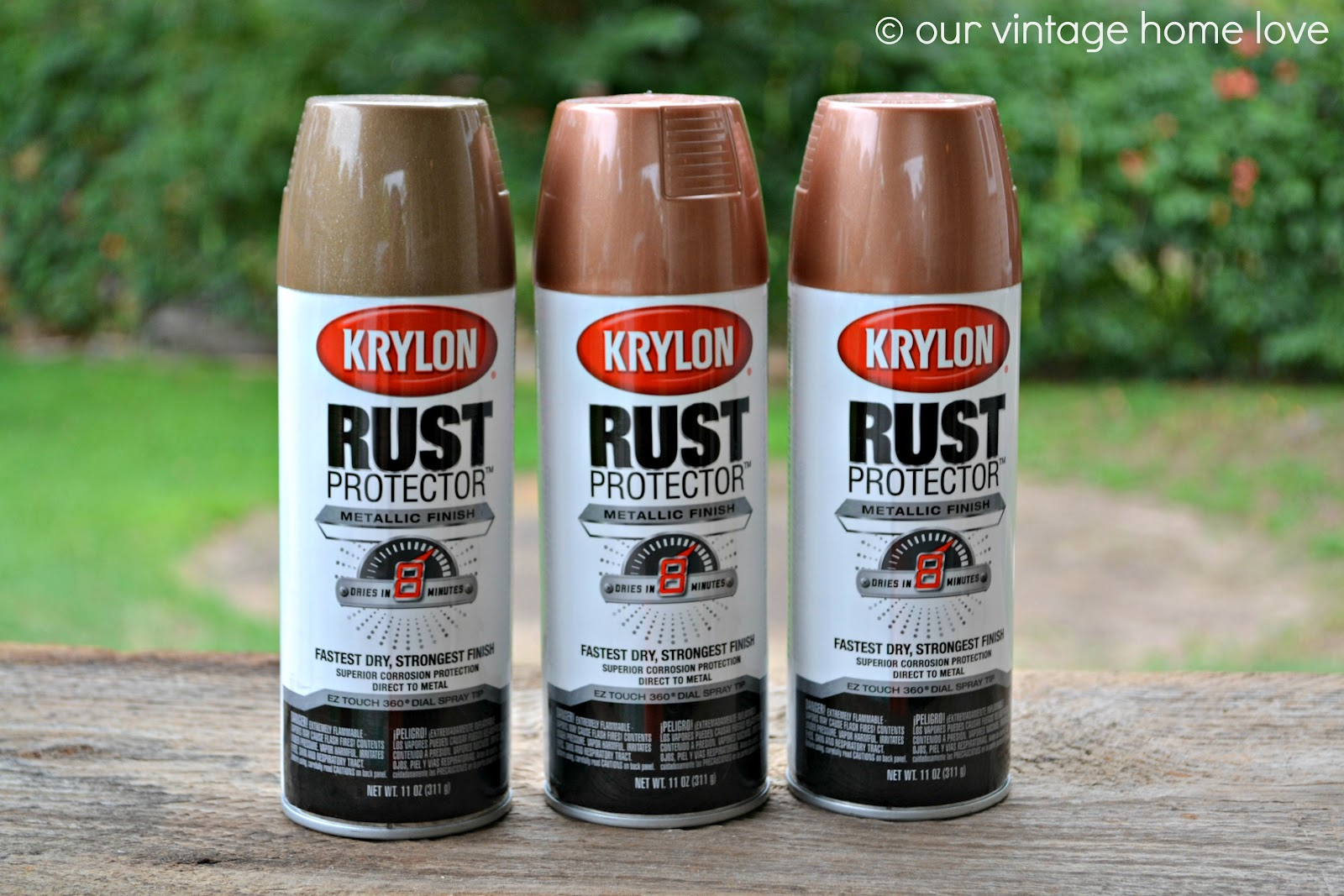 006 Rust Colored Spray Paint