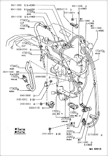 VACUUM HOSE REPLACEMENT AND DIAGRAM: 1986 Toyota Celica