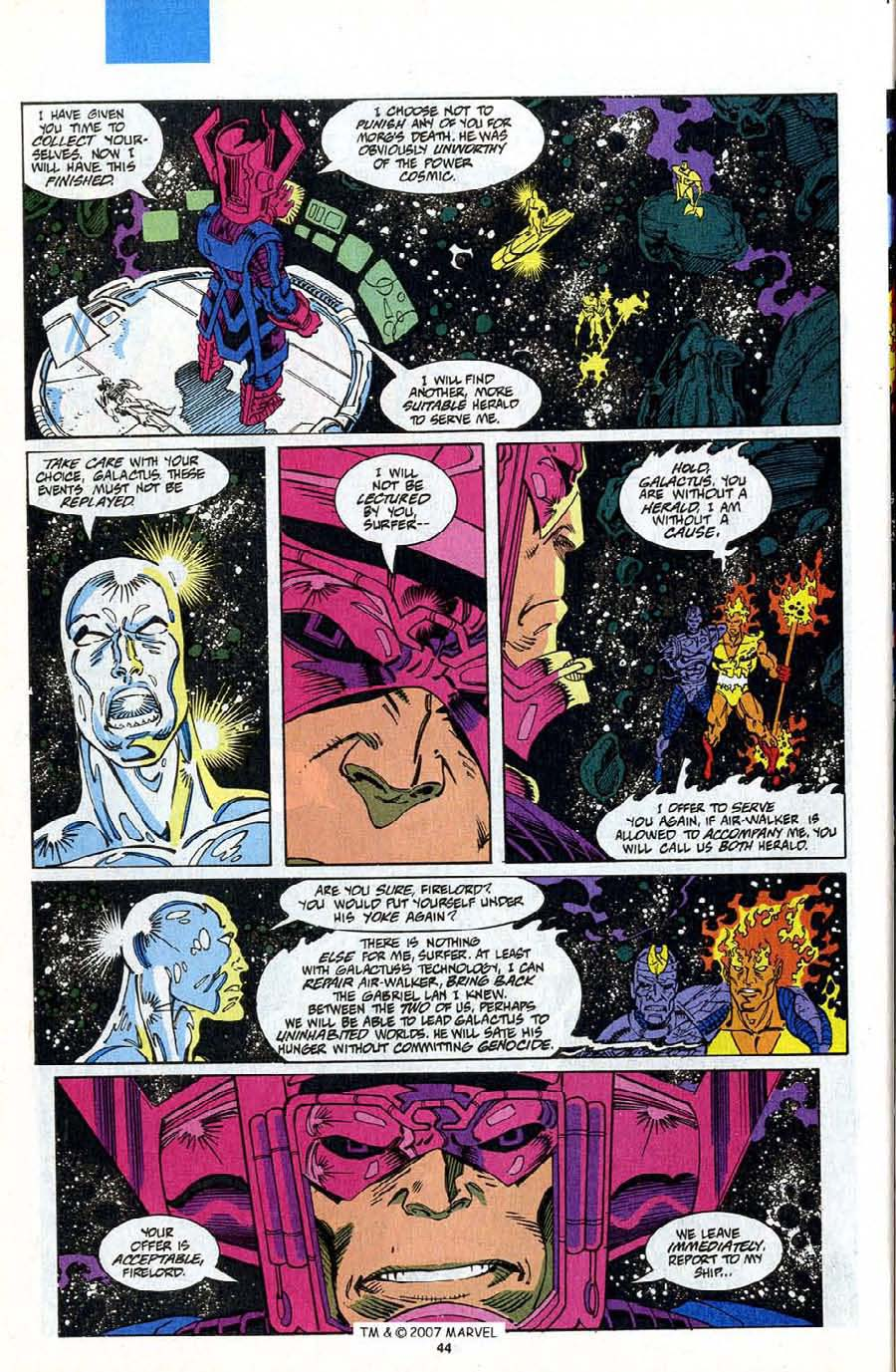 Read online Silver Surfer (1987) comic -  Issue #75 - 46