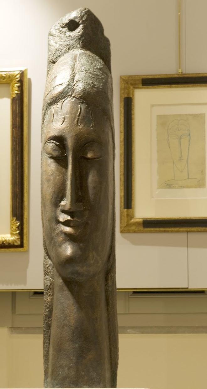 Amedeo Modigliani 1884-1920 | Italian Expressionist painter and sculptor | Sculpture