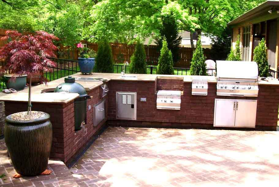 Real world gardener for Easy outdoor kitchen designs