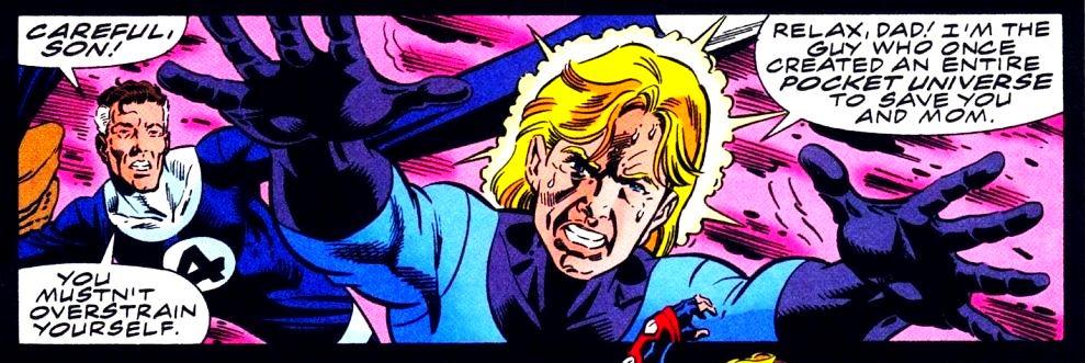 A Comic Odyssey: History of the MC2: Heroes Reborn/Heroes Return