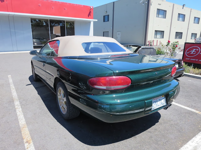 Chrysler Sebring Convertible with a complete car paint job from Almost Everything Auto Body