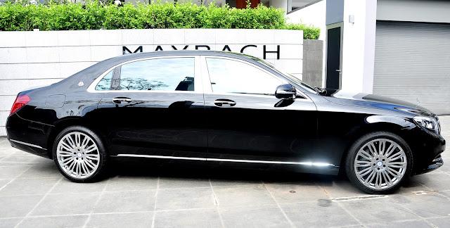 Mercedes Maybach S500 có thể chinh phục mọi địa hình từ bằng phẳng tới gập ghềnh