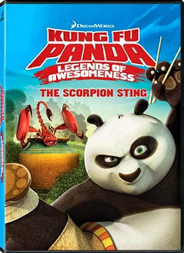 Kung Fu Panda Legends of Awesomeness The Scorpion Sting (2013) DVDRip