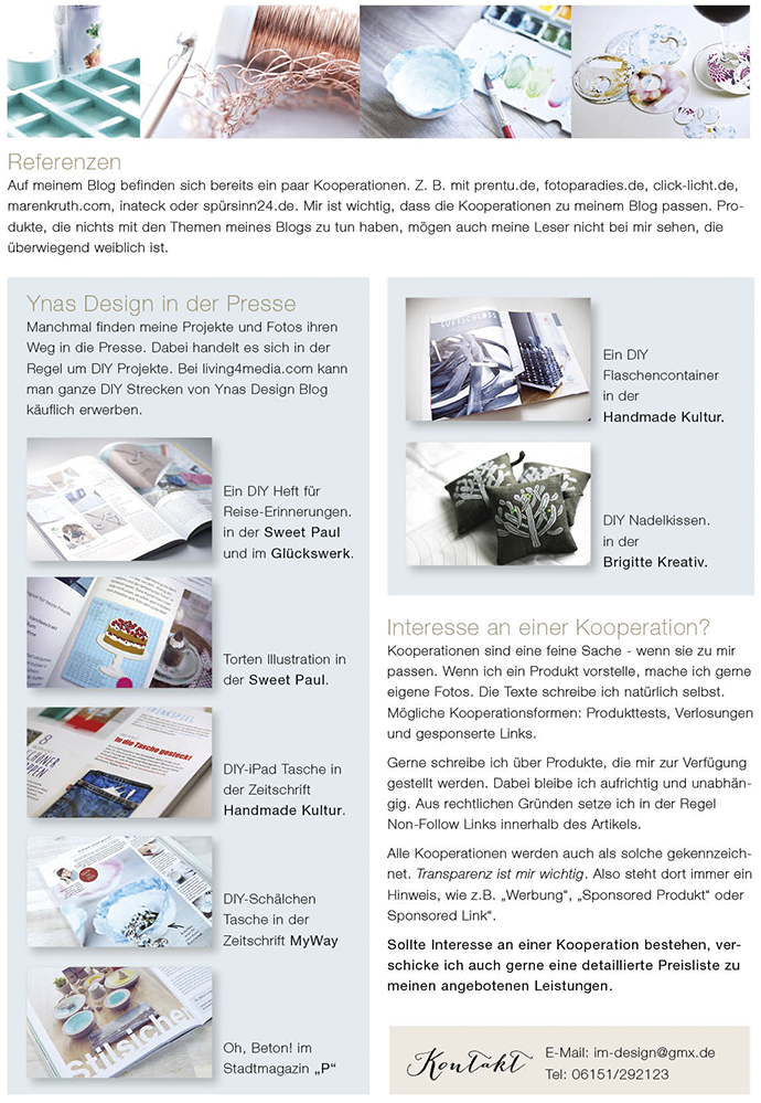 Ynas Design Blog | Media Kit 2