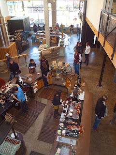 from above  Sightglass Coffee Bar & Roastery
