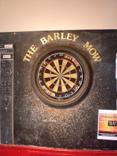 Darts at the Barley Mow pub in Southsea