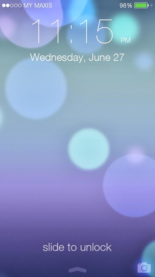 iOS 7 Lockscreen Parallax HD v2.13.1 ~ apkandroidappfull