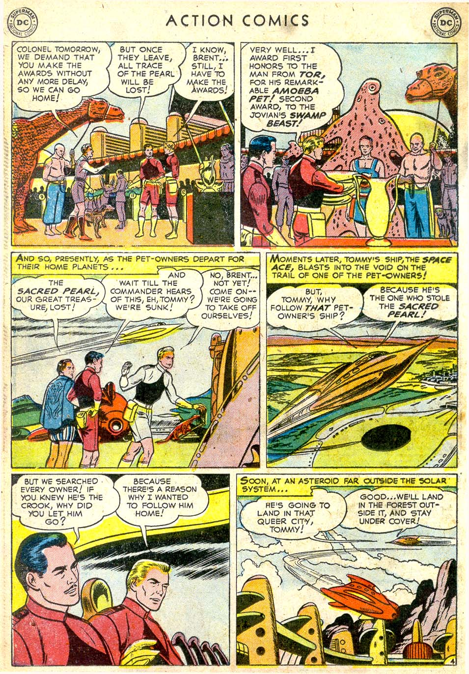 Read online Action Comics (1938) comic -  Issue #164 - 28