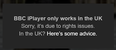 BBC iPlayer only works in the UK. Sorry, it's due to rights issues.