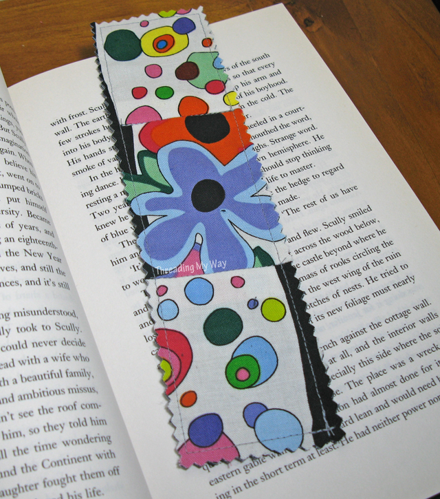 Quick and Easy Fabric Bookmarks ~ 25 Fabric Bookmarks to make ~ Threading My Way