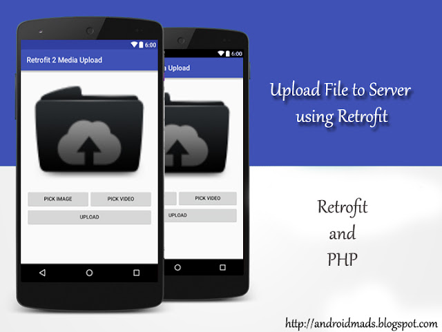 Upload file using Retrofit