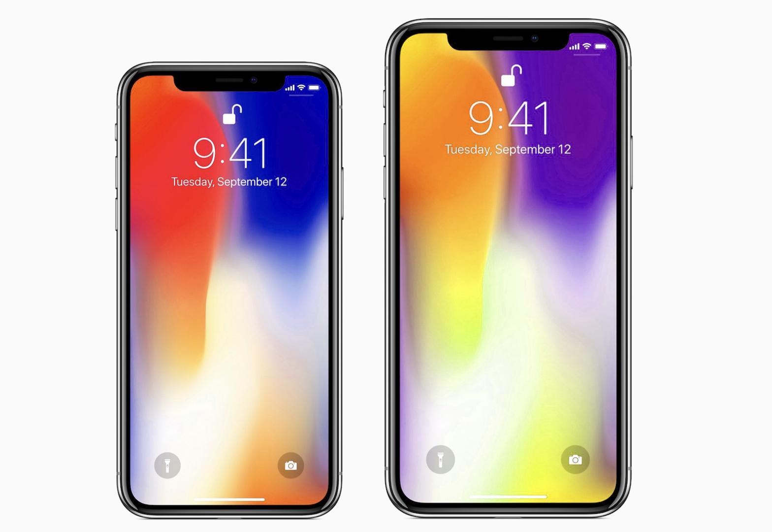 """iPhone X2 príde ako 5,8"""" a 6,5"""" model. Väčší z dvojice ponesie označenie X2 Plus - svetapple.sk"""