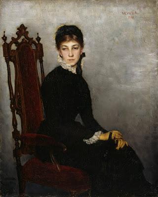 Hilda Wiikin Muotokuva (1881), Maria Wiik