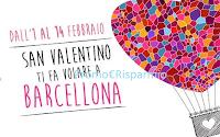Logo Ethos Profumerie : vinci 3 weekend a Barcellona per San Valentino
