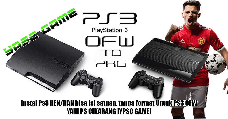 YANI PS CIKARANG [YPSC GAME]: LIST GAME PS3 OFW CFW2OFW & PS3 HEN/HAN