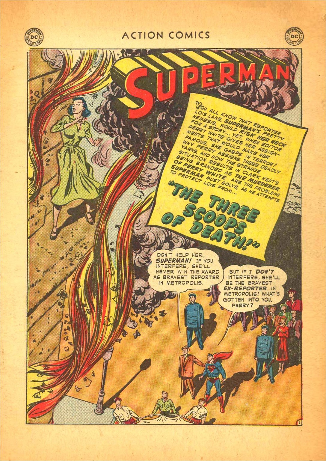 Read online Action Comics (1938) comic -  Issue #166 - 2