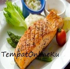 salmon panggang spesial