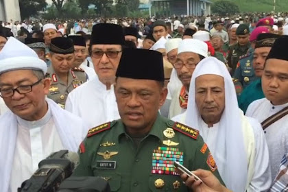 Nah, Soal Rilis Menteri Wiranto, Begini Jawaban Cerdas Panglima TNI