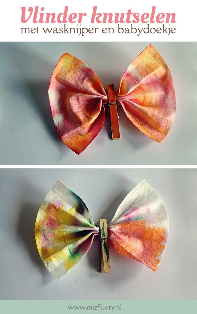 vlinders knutselen zomer pinterest