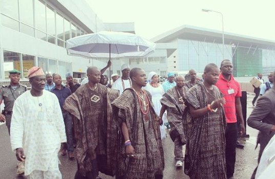 ooni ife returns to nigeria