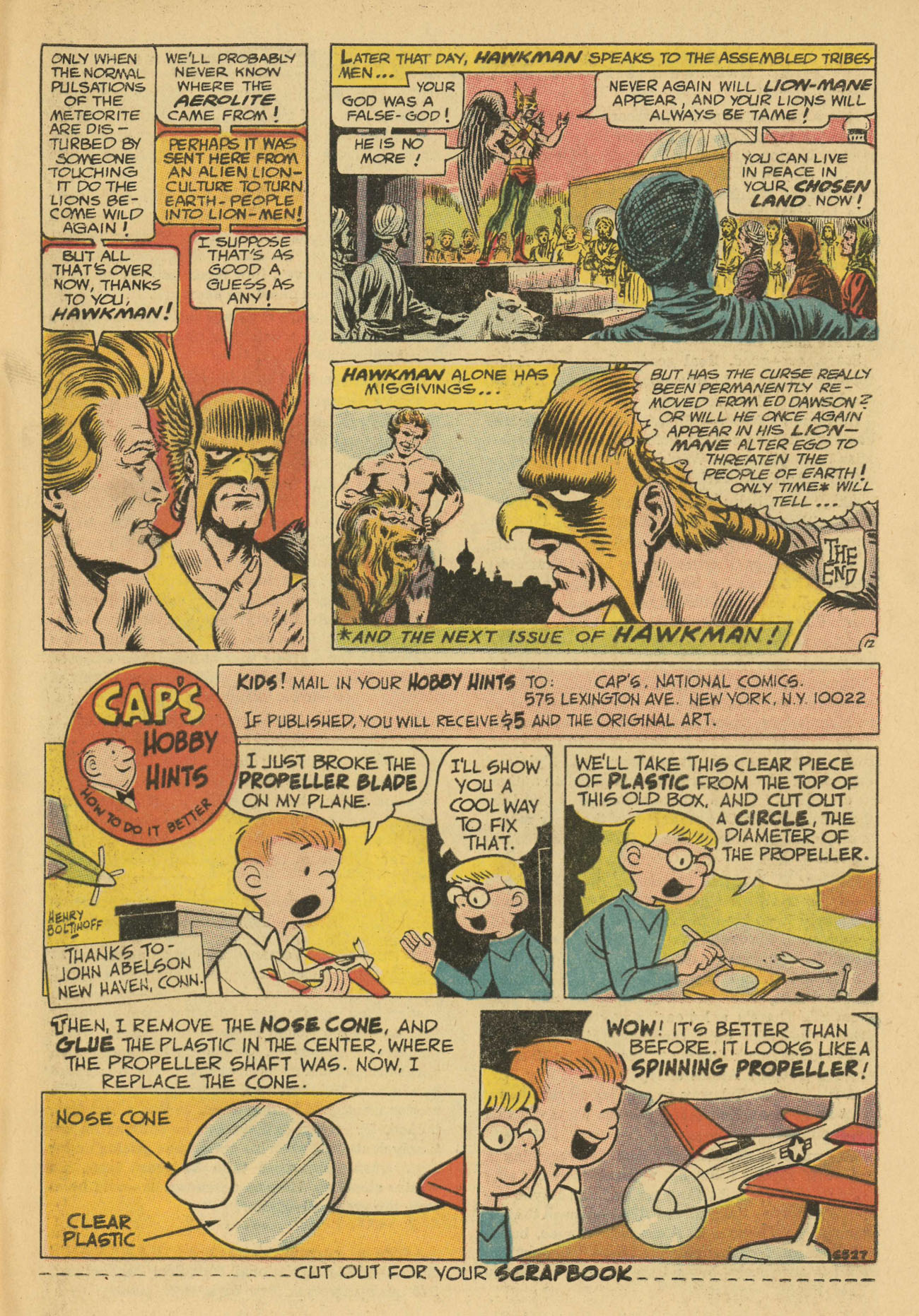 Hawkman (1964) issue 20 - Page 29