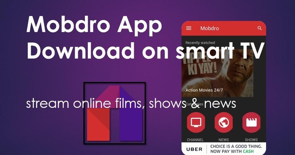 mobdro premium apk cracked android