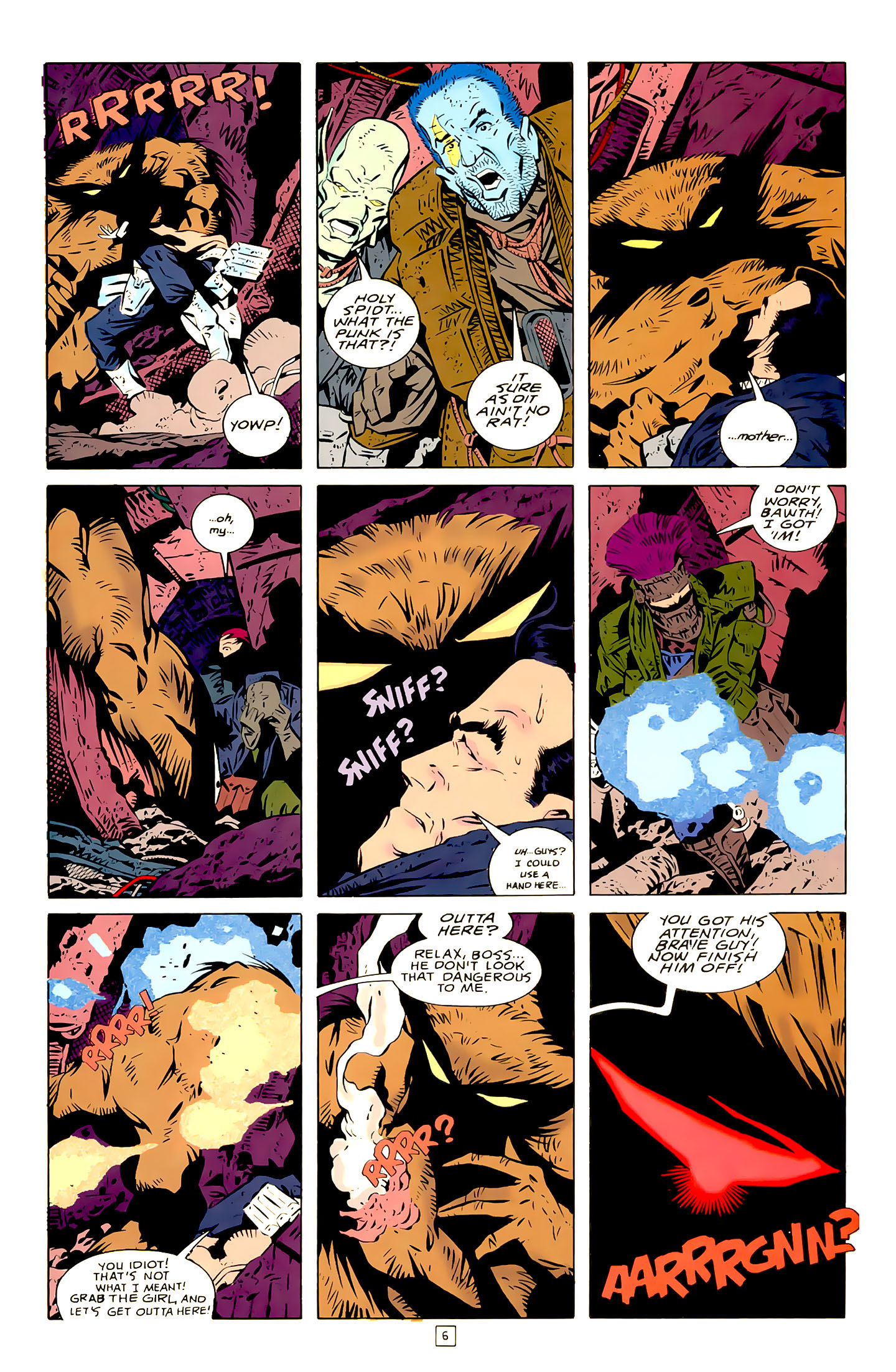 Legion of Super-Heroes (1989) 21 Page 6
