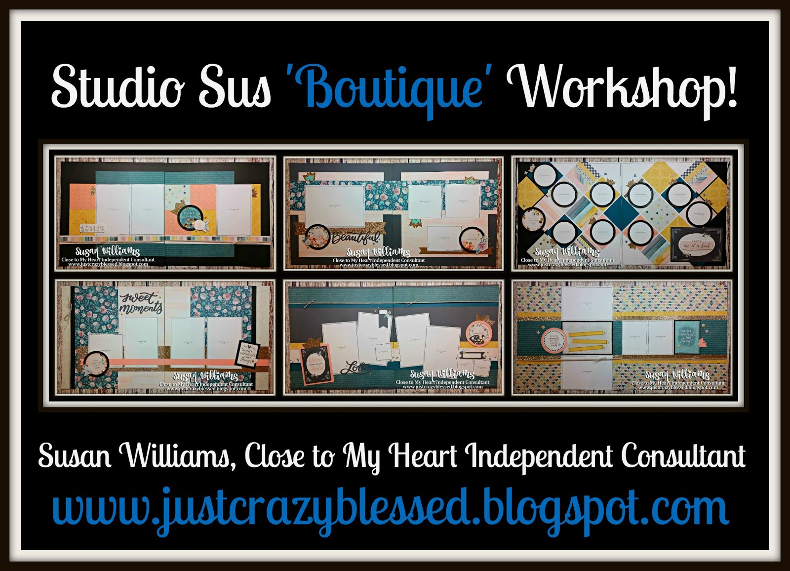 'Boutique' Scrapbooking Workshop!