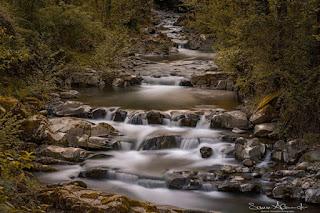 River Scene, Valleriana, Tuscany, Italy photo by Alessandro Sansoni
